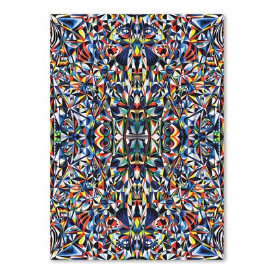 Americanflat Outgrown Graphic Art Wrapped on Canvas