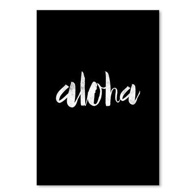 Americanflat Aloha Typography
