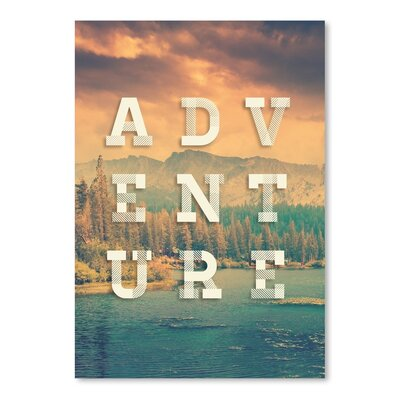 Americanflat Adventure Poster Typography
