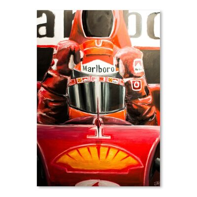 Americanflat Marlboro Graphic Art Wrapped on Canvas