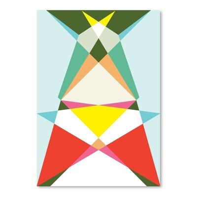 Americanflat Geometric Multi 3 Graphic Art