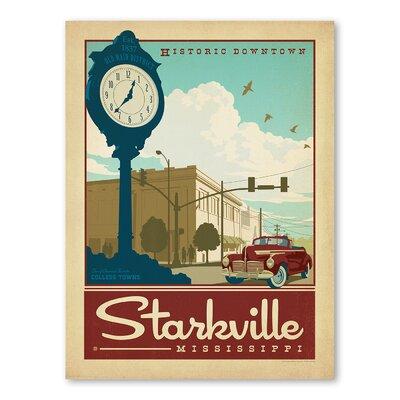 Americanflat Asa Starkville Vintage Advertisement