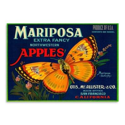 Americanflat Mariposa Vintage Advertisement