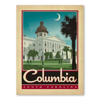 Americanflat Asa Columbia Vintage Advertisement