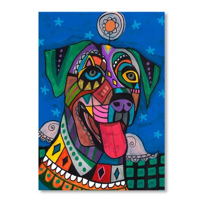 Americanflat Catahoula Art Print on Canvas