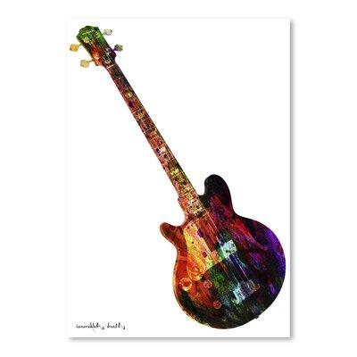 Americanflat Guitar 10 Art Print
