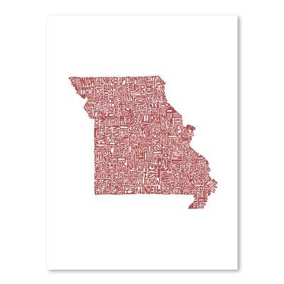 Americanflat Missouri 2015 Graphic Art