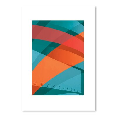 Americanflat Guggenheim Graphic Art Wrapped on Canvas