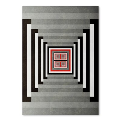 Americanflat The Wake Up Graphic Art Wrapped on Canvas