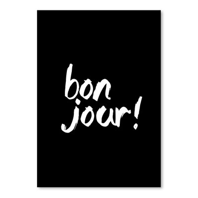 Americanflat Bonjour Typography