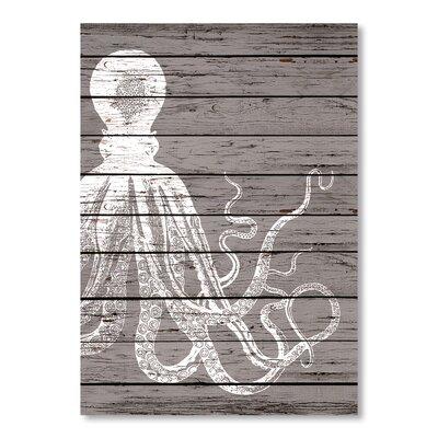 Americanflat Offset Octopus Graphic Art