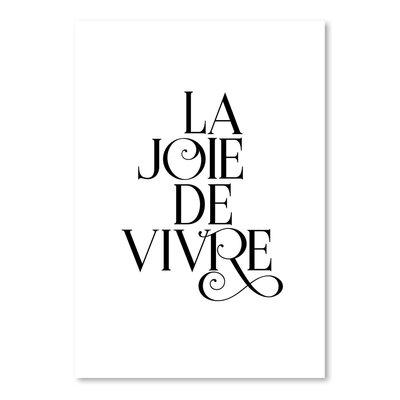 Americanflat La Joie De Vivre Fancy Typography
