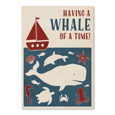 Americanflat Whale of a Time Vintage Advertisement