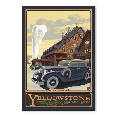 Americanflat 8800 Vintage Advertisement Wrapped on Canvas