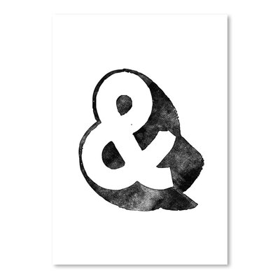 Americanflat Ampersand 3D Typography