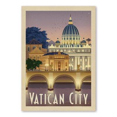 Americanflat Vatican Vintage Advertisement