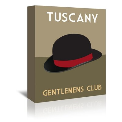 Americanflat Tuscany Gentlemens Club by Alan Walsh Graphic Art Wrapped on Canvas