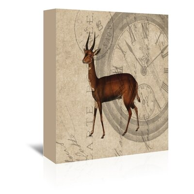 Americanflat Antelope Graphic Art on Canvas