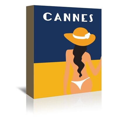 Americanflat Cannes by Alan Walsh Graphic Art Wrapped on Canvas