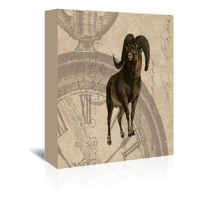 Americanflat Argali Fob Graphic Art Wrapped on Canvas