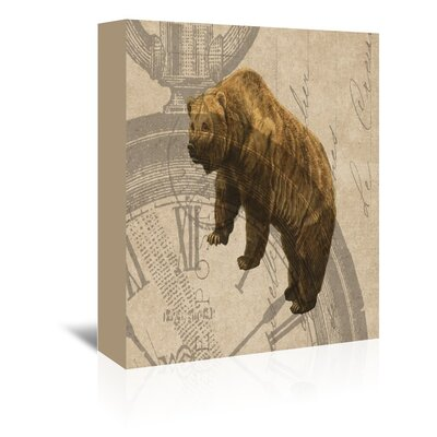 Americanflat Bear Graphic Art on Canvas