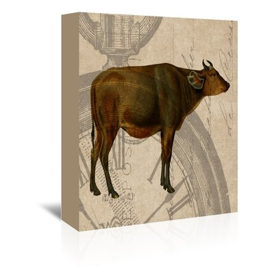 Americanflat Buffalo Graphic Art on Canvas