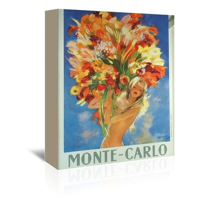 Americanflat Molte Carlo Art Print Wrapped on Canvas