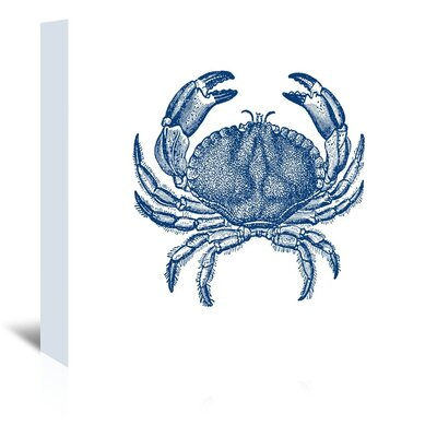 Americanflat Crab Quad 4 Graphic Art on Canvas