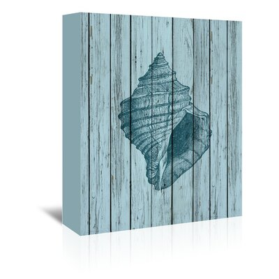Americanflat Wooden Shell Graphic Art Wrapped on Canvas