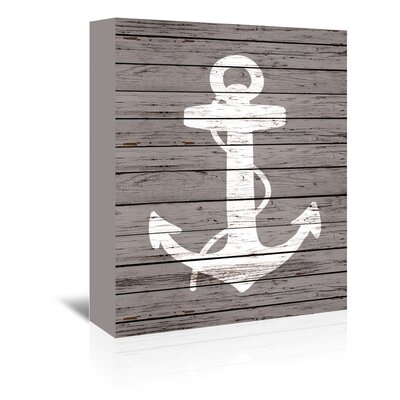 Americanflat Quad Anchor Graphic Art on Canvas