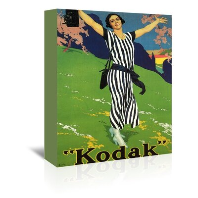 Americanflat Kodak Graphic Art Wrapped on Canvas