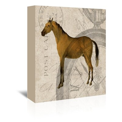 Americanflat Horse Graphic Art on Canvas