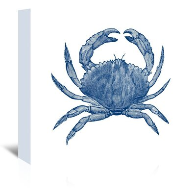Americanflat Crab 3 Graphic Art on Canvas