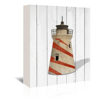 Americanflat Lighthouse Graphic Art on Canvas