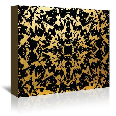 Americanflat Thrice Graphic Art Wrapped on Canvas