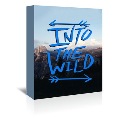 Americanflat Wild Mountain Graphic Art on Canvas