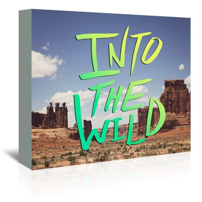 Americanflat Wild West Graphic Art Wrapped on Canvas