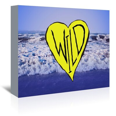 Americanflat Wild Graphic Art Wrapped on Canvas