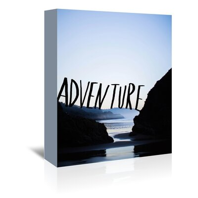 Americanflat Spirit Adventure Graphic Art Wrapped on Canvas
