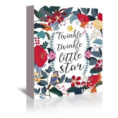 Americanflat 'Twinkle Twinkle' by Mia Charro Graphic Art Wrapped on Canvas
