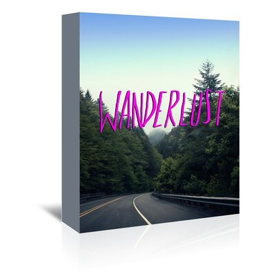 Americanflat Wanderer Graphic Art Wrapped on Canvas