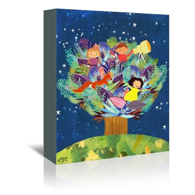 Americanflat 'Tree' by Mia Charro Graphic Art Wrapped on Canvas