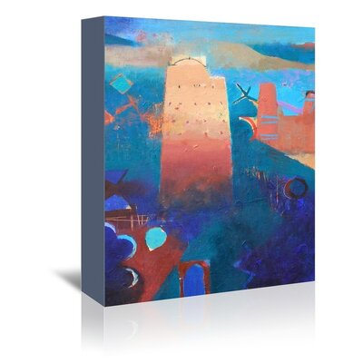 Americanflat Imiter Art Print Wrapped on Canvas