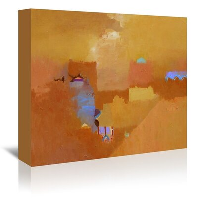 Americanflat Parched Art Print Wrapped on Canvas