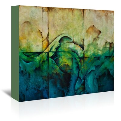 Americanflat Paradise Art Print Wrapped on Canvas