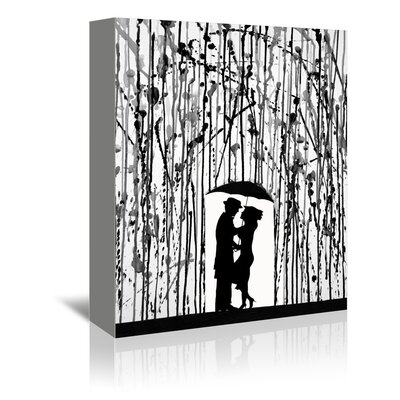 Americanflat Film Noir Graphic Art Wrapped on Canvas