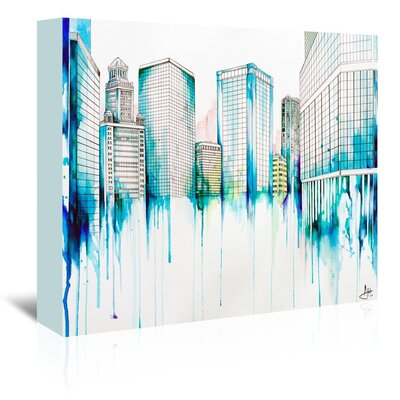 Americanflat Nightowl by Marc Allante Graphic Art Wrapped on Canvas