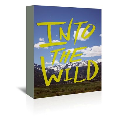 Americanflat Wild Wall Graphic Art Wrapped on Canvas