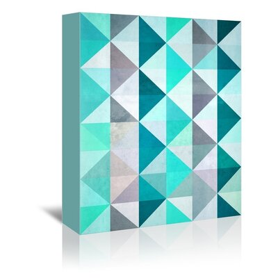 Americanflat Geo Graphic Art on Wrapped Canvas