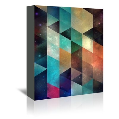 Americanflat Yulla Graphic Art Wrapped on Canvas